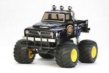Tamiya-The Midnight Pumpkin, Negro Edition 1/12 Monster Truck Kit