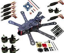 Super RD290 Mini 290mm Hexacopter 6 Axles FPV Racer Carbon Fiber frame combo kit