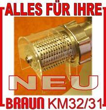 KM32 Mandelmühle/Reibevorsatz  für Fleischwolf Braun KGZ 2 3  KM32 KM3 MX3