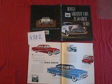 N°4382   / BUICK catalogue english text 1953