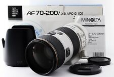 MINOLTA AF 70-200mm f/2.8 APO D SSM Lens SONY/MINOLTA A Mount Exc from Japan