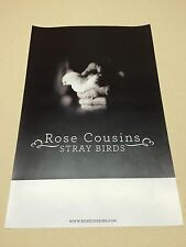 2015 Rose Cousins Concert Poster From Portsmouth NH Music Hall