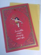 "Hallmark DC Mother's Day Card ""Wonder Woman"" - New"