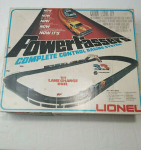 Lionel Power Passers Control Racing System Lane Changing Duel 1976 No Cars