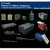 T-Model A72001 1/72 Modern US Military Equipment Plastic Assembly Model Kits