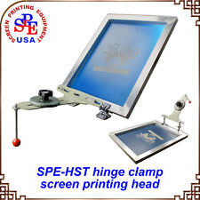 Simple Screen Printing Butterfly Frame Hinge Clamp Press Equipment Machine DIY