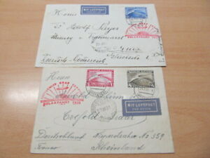 E1681) Dr O Weimar 456-58 A Beau Voyage Polaire Lettres Malygyn 1931, Sieger 119