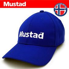 CAPPELLINO MUSTAD CAP ORIGINALE CAPPELLO BERRETTO PESCA BLU 9b1458de66b5
