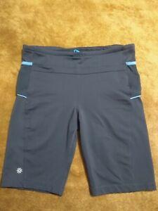 ATHLETA Women's Bike Shorts Size Large Stretch Style 225325 Running Yoga