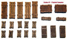 1/35 Universal Wooden Crates #1 - Value Gear Details - 22pcs Resin Stowage
