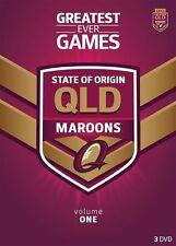 NRL - State Of Origin - Greatest Ever Games - Queensland (DVD, 2013, 3-Disc Set)