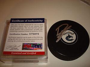 Ryan Kesler Signed Autographed Vancouver Canucks Hockey Puck PSA/DNA COA b