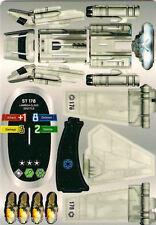 STAR WARS POCKETMODEL - (BS019) LAMDA-CLASS SHUTTLE