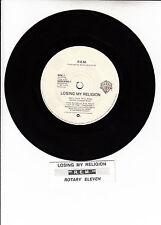 "R.E.M. (REM)  Losing My Religion & Rotary Eleven  45 7"" record + juke box strip"