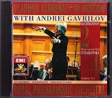 Andrei GAVRILOV & ASHKENAZY In Moscow RACHMANINOV Piano Concerto 2 TCHAIKOVSKY 4