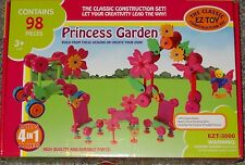 Princess Garden EZ-Toy Classic Construction Set Building Toy Creative 4 in 1