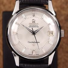 Authentic Omega Constellation Pie Pan Date Chronometer Automatic Mens Watch