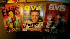 Elvis Presley 2 Magazines 1 1988 Calendar Photos Country Tribute History 1980's