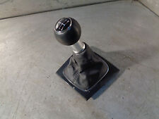 Audi A3 2.0 TDI 8P 04-13 6 speed leather gear knob gaiter black trim 8P0864261D