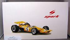 Spark 1/18: 18S116 McLaren M7A #5 Denny Hulme - Winner Mexican GP 1969