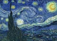 Vincent van Gogh: Starry Night. Fine Art Print/Poster