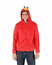 Sesame Street Elmo Character Mens Hoodie