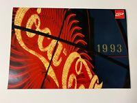 1993 COCA~COLA Sports Wall Calendar ~ GREAT CONDITION ~ unmarked/unused