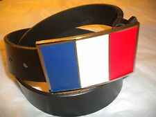 BRAND NEW  BUCKLE WITH A  FRANCE FLAG BUCKLE  ONLY