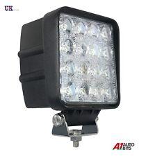 48W SQUARE 16 LED 12V/24V WORK FOG SPOT LIGHT LAMP OFF-ROAD JEEP TRUCK BOAT ATV