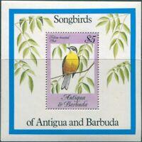 Antigua 1984 SG874 Songbirds MS MNH