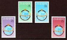 Zimbabwe 1980 Rotary International MNH set S.G. 591-594