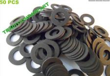 2xSet of 50 pcs 100pc total Toyota Oil Drain Plug Seals Gaskets12mm Fiber