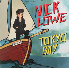 "NICK LOWE 7"" x 2 TOKYO BAY Double Pack Vinyl UNPLAYED / Crying Inside +2 Covers"