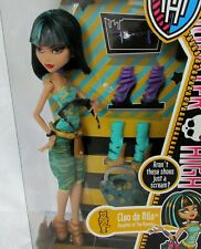 Monster High Cleo de Nile Doll I Love Shoes Fashion New in Box