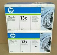 2 NEW GENUINE HP Q2613X 13X HIGH YIELD Black TONER CARTRIDGE FOR LASERJET 1300