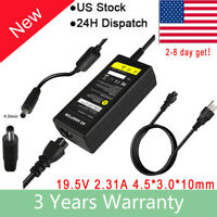 45W AC Adapter For Dell Inspiron 11 13 14 15 3000 5000 7000 Series Charger New