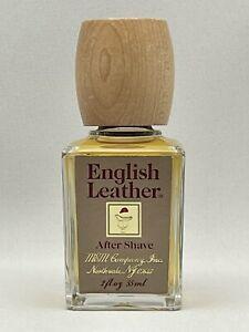 Vintage English Leather After Shave 2 oz Splash By Mem Company NEW Travel Size