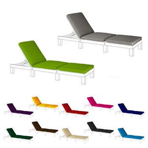 Replacement Cushion Keter Allibert Daytona Sun Lounger Seat Pad Garden Furniture