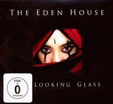 THE EDEN HOUSE - THE LOOKING GLASS 2 CD + DVD 14 TRACKS CLASSIC ROCK & POP NEUF