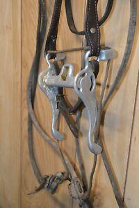 Vintage Mikmar Western Bit Bridle Training Headstall