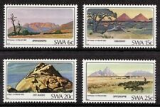 SWA 1982 Mi 524-527 Mountains; Mountain Peaks MNH