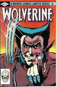 Wolverine#1 1982 FRANK MILLER VF COND.