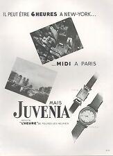 ▬► PUBLICITE ADVERTISING AD MONTRE WATCH JUVENA golfe Juan Jumping