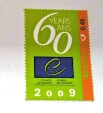 Slovenia 2009 Int. Organization Council of Europe  60 years MNH Unused  stamp