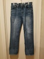 Buckle BKE Tyler Straight Leg Men's Jeans 31S Thick Stitched Stretch Denim