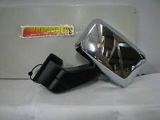 2006-2007 HUMMER H3 CHROME DRIVERS SIDE POWER MIRROR NEW GM #  15884836
