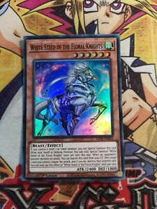 White Steed of the Floral Knights led8-en022 1st Ed (NEW) Super Rare Yu-Gi-Oh!