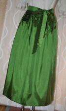 NEU* 90cm lange Taft Dirndl Schürze glänzend grün H.MOSER  Mode aus Salzburg