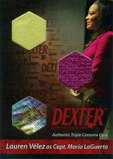 Dexter Seasons 7 & 8 Costume Wardrobe Card TC Laura Velez Capt. Maria LaGuerta