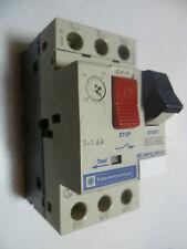 Telemecanique GV2-M06 Motor Starter Protector GV2M06 1AMP-1.6AMP 690V